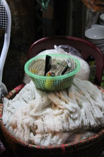 Standards here are a bit different- yes, these are the noodles that go in your soup beneath the basket that holds all of the money that diners pay when settling the bill.