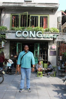 Cong became our go-to coffee spot.