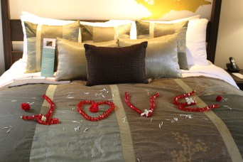 Our first 'honeymoon' message