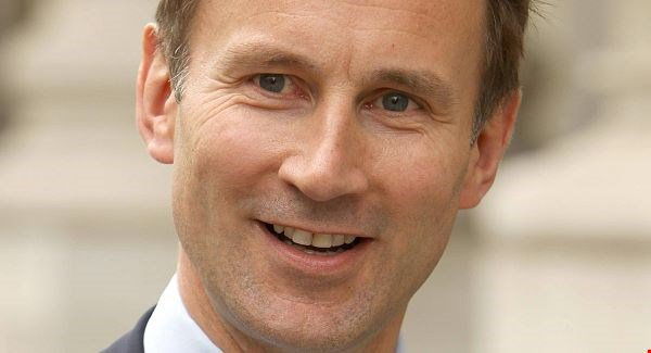 Jeremy Hunt has put his name in line for next Prime Minister