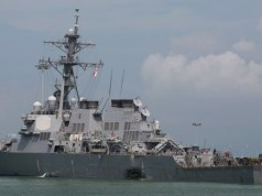 USS Navy Destroyer,