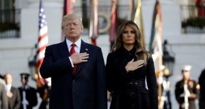 Donald Trump, Melania Trump, 9/11, Ground Zero