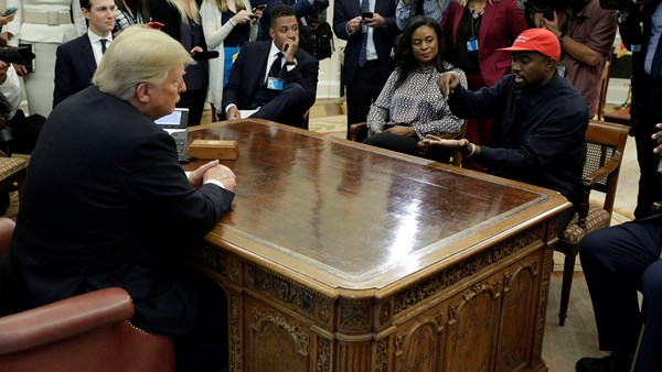 Oval Office, Donald Trump, Kanye West