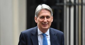 Philip Hammond says a no-deal brexit will put Britain at the 'mercy of the French'.