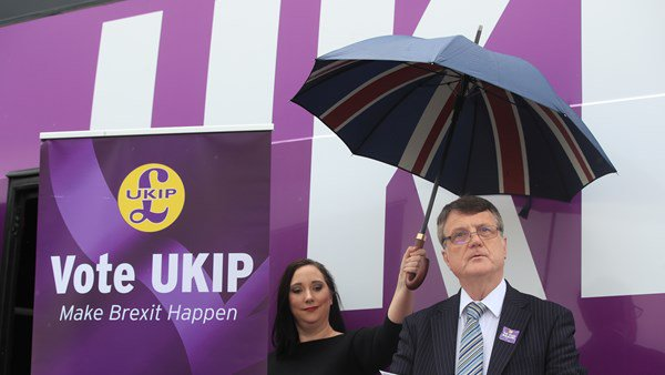UKIP, Gerard Batten, European Union, Middlesbrough, Politics, Westminster