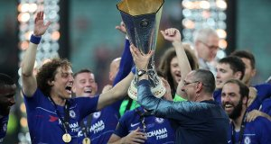 Chelsea FC, Europa League, Maurizio Sarri, David Luiz, Eden Hazard, Football, Sport