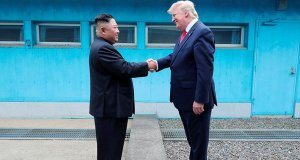 USA and North Korea meet and discuss.