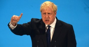 Boris Johnson promises to delay Brexit delay.