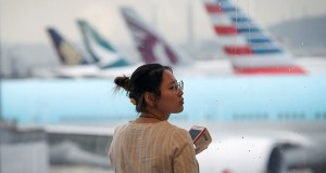Chinese airlines Cathay Pacific shut down flights because of strike
