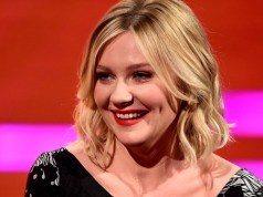 Kirsten Dunst is in no rush to lose baby weight.