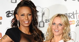 Mel B and Geri Hall