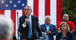 Mike Dewine backs tougher gun laws after Ohio shooting.