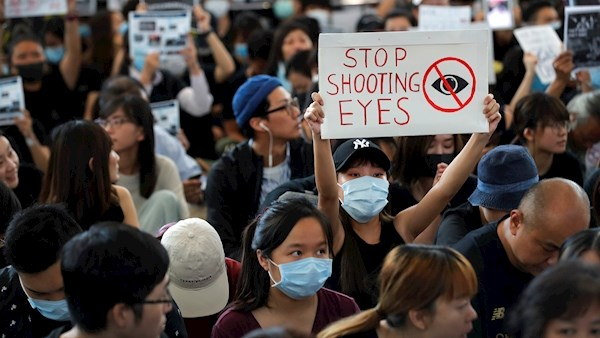 Hong Kong Protests and strikes cause shutdown of flights.