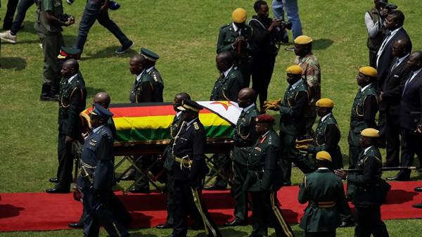 Many attend the Robert Mugabe funeral in Zimbabwe