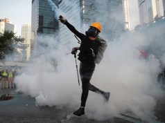 Hong Kong protesters attack government offices