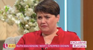 Ruth Davidson steps down from Conservative party
