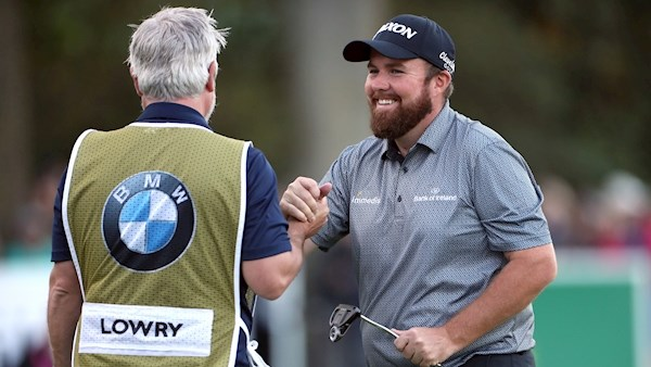 Shane Lowry the Wentworth BMW PGA tour