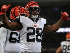 Cincinnati Bengals get beaten by the Los Angeles Rams in Wembly Stadium