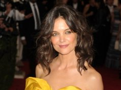 Katie Holmes says she works out with daughter