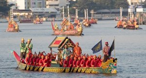 Bangkok: Colourful royal barge procession marks end of Thai king's coronation ceremony; Buddhism