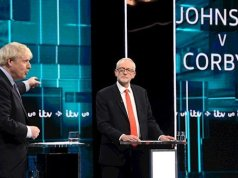Boris Johnson vs Jeremy Corbyn in the Election debate