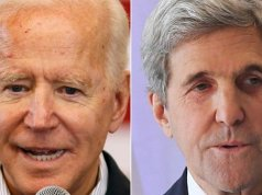 Joe Biden is endorsed by John Kerry
