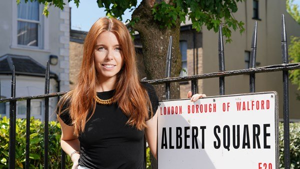 Stacey Dooley joins Eastenders for filling the gap