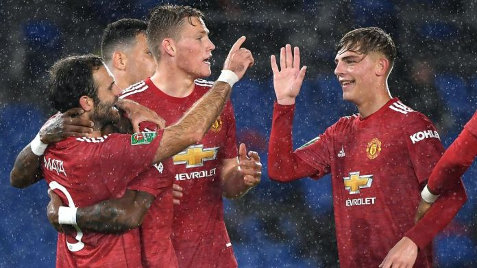 Manchester United beat Brighton in Carabao Cup