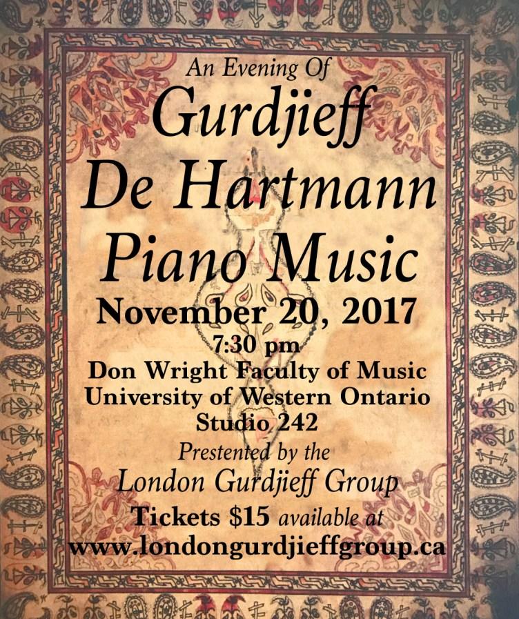 Gurdjieff-De Hartmann Piano Music