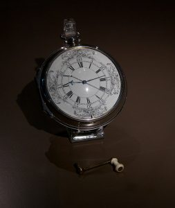 H4 Marine Chronometer, the clock that changed the world of navigation. Courtesy David Brossard, CC Att SA Gen 2.0 license