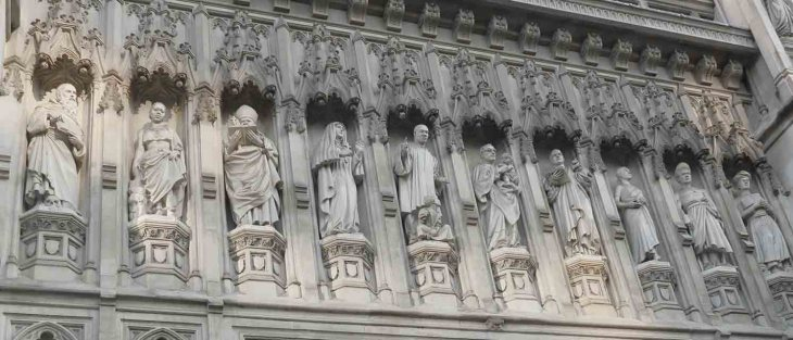 20th Century Martyrs at Westminster Abbey, by Jill Browne