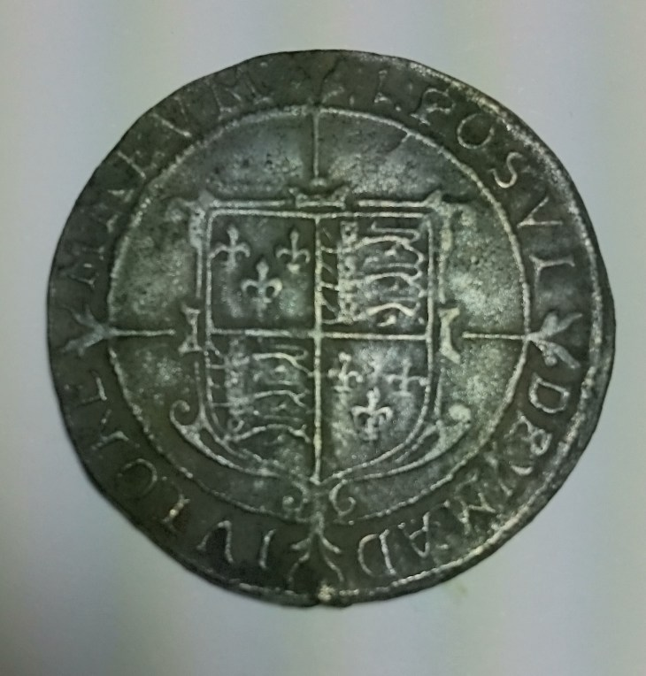 Reverse side of the Queen Elizabeth half-crown, by Nicola White
