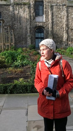 Jo Wilkinson, London tour guide (own photo)