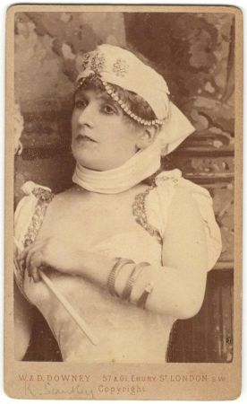 Victorian actress Kate Santley