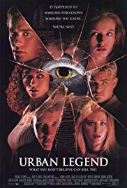 Urban Legend film poster