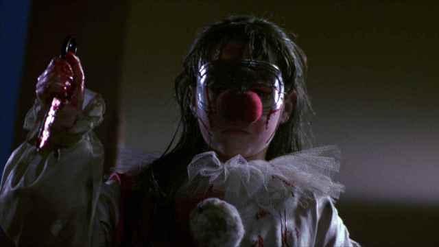 Danielle Harris as clown
