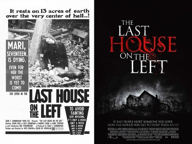 The Last House on the Left film posters