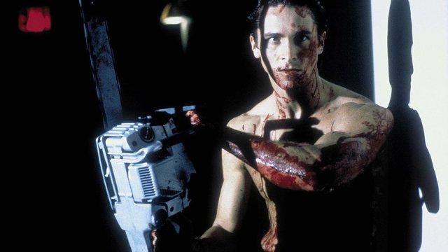 Bloodied Patrick Bateman