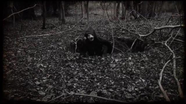 Dead Woods hooded character