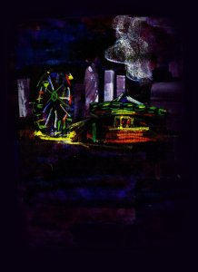 Goodnight Mr Spindrift artwork