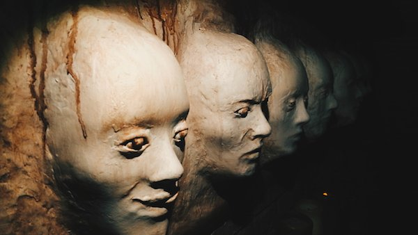 Amsterdam Catacombs - faces
