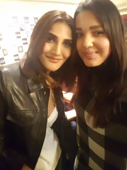 With Vaani Kapoor