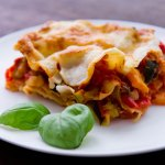 Roast Vegetable Lasagne