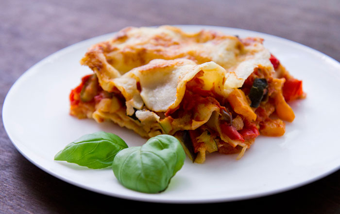 Roast Vegetable Lasagne Recipe