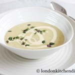 Delicious Potato Soup with Cream & Herbs