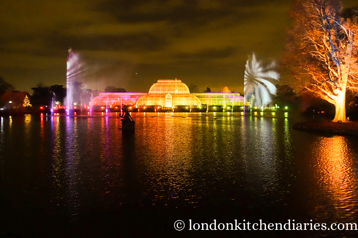 Christmas at Kew Gardens London