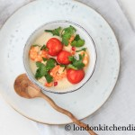 Thai Coconut Soup with King Prawns