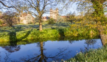 A Walk at Dawn around Sissinghurst Castle Estate in Kent