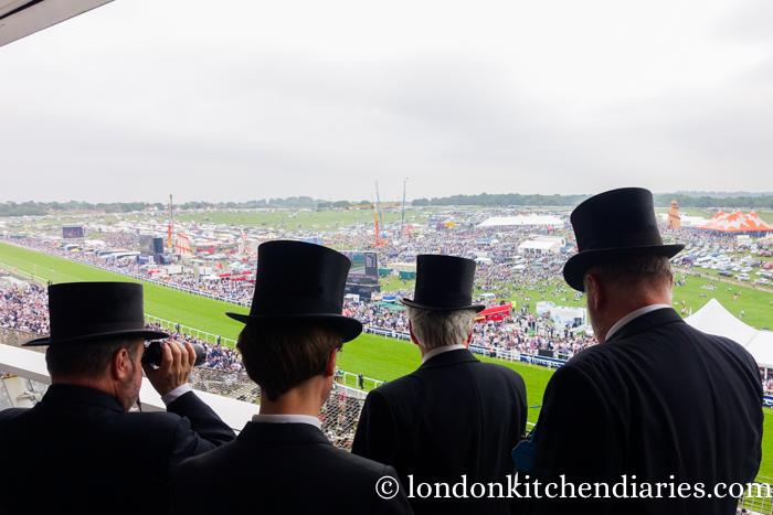 Gentlemen in their black hats the Epsom Derby 2016