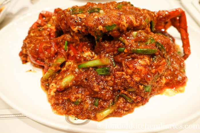 Chilli Crab at the National Kitchen by Violet Oon Singapore
